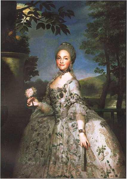 15-Антон Рафаэль Менгс (1728–1779) Мария Луиза Пармская, принцесса Астурийская Около 1765.jpg