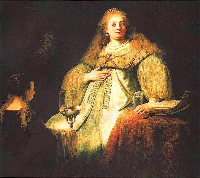 17-Харменс ван Рейн Рембрандт (1606–1669) Софонисба принимает чашу с ядом 1634.jpg