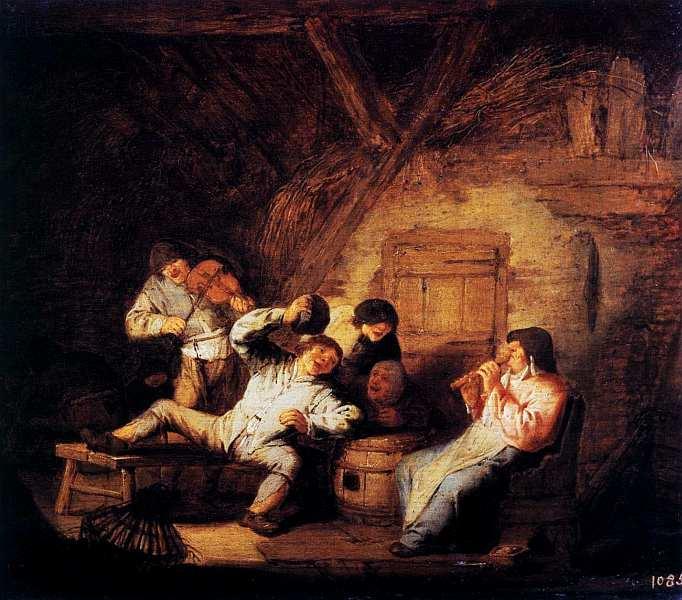 18-Адриан ван Остаде (1610–1685) Деревенский концерт 1630–1640.jpg