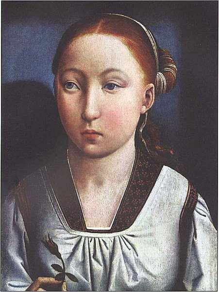 21-Хуан де Фландес (около 1460–1519) Портрет девушки Около 1496–1505.jpg