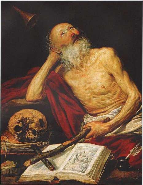 26-Антонио Де Переда-и-Сальгадо (1611–1678) Святой Иероним 1643.jpg