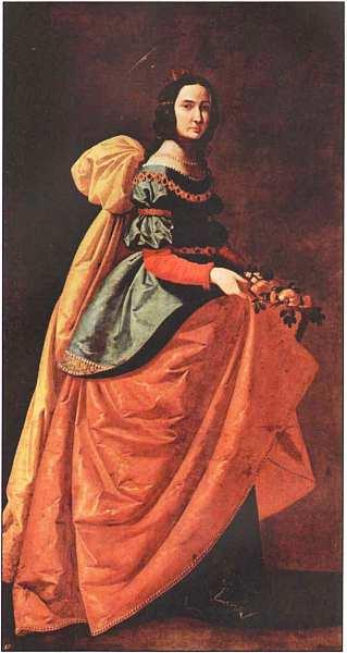 29-Франсиско де Сурбаран (1598–1664) Святая Касильда Около 1635.jpg