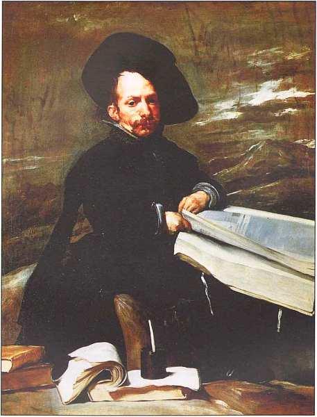 30-Диего Веласкес (1599–1660) Портрет придворного шута «Эль Примо». Около 1644.jpg