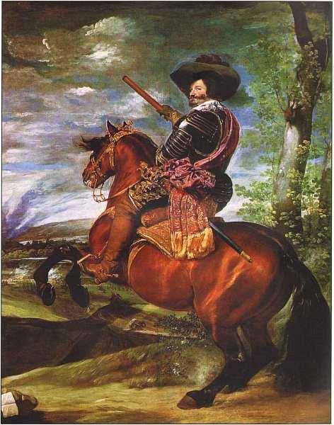 31-Диего Веласкес (1599–1660) Конный портрет Гаспара де Гусмана, герцога Оливареса 1632–1633.jpg
