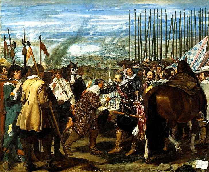 32-Диего Веласкес (1599–1660) Сдача Бреды 1635.jpg
