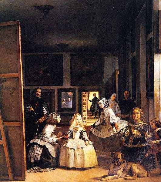 33-Диего Веласкес (1599–1660) Менины Около 1656.jpg