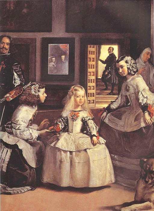 34-Диего Веласкес (1599–1660) Менины Около 1656 (фрагмент).jpg