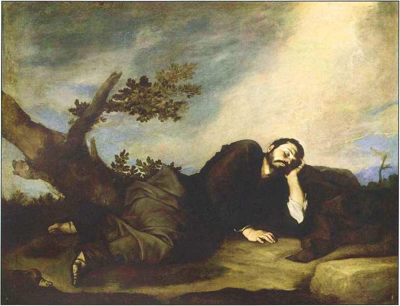 37-Хусепе де Рибера (1591–1652) Сон Иакова 1639.jpg