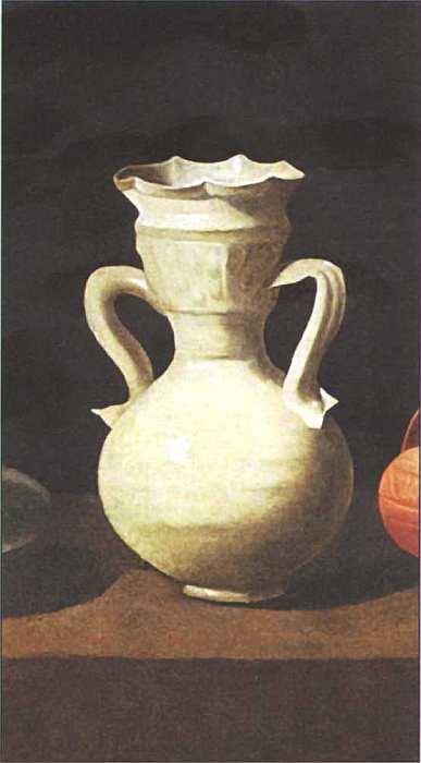 43-Франсиско де Сурбаран (1598–1664) Натюрморт Около 1650 (фрагмент).jpg
