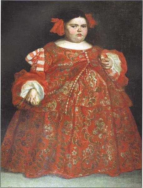 45-Хуан Карреньо де Миранда (1614–1685) Портрет Евгении Мартинес Вальехо (ла Монстра) Около 1680.jpg