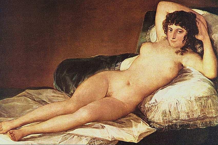46-Франсиско де Гойя-и-Лусьентес (1746–1828) Обнаженная маха 1795–1800.jpg