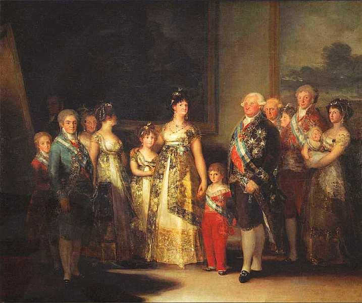 51-Франсиско де Гойя-и-Лусьентес (1746–1828) Семейство Карла IV 1800.jpg