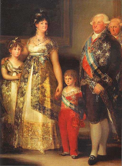 52-Франсиско де Гойя-и-Лусьентес (1746–1828) Семейство Карла IV 1800 (фрагмент).jpg