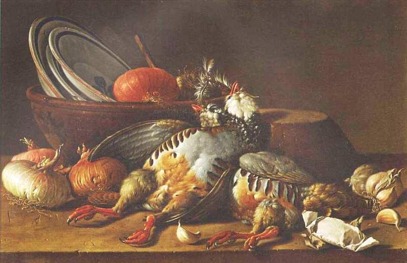 53-Луис Мелендес (1716–1780) Натюрморт с куропатками и посудой Последняя треть XVIII века.jpg