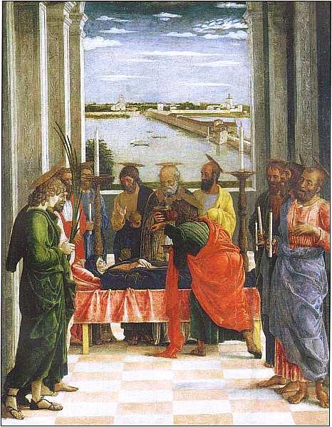 58-Андреа Мантенья (около 1431–1506) Успение Девы Марии. Около 1462.jpg