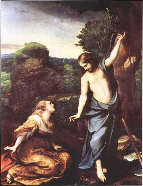 62-Корреджо (около 1489-около 1534) Noli те tangere Около 1525.jpg