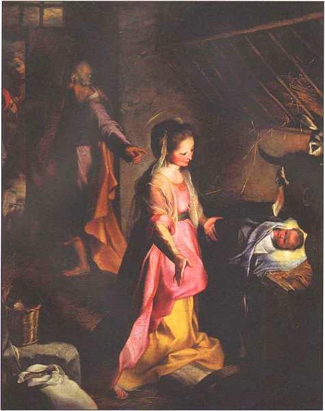 67-Федерико Бароччи (1535–1612) Рождество Христово 1597.jpg