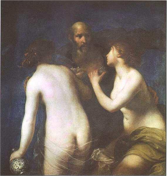 69-Франческо Фурини (1603–1646) Лот и его дочери Около 1635.jpg