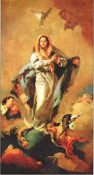 70-Джованни Баттиста Тьеполо (1696–1770) Непорочное зачатие 1767–1769.jpg