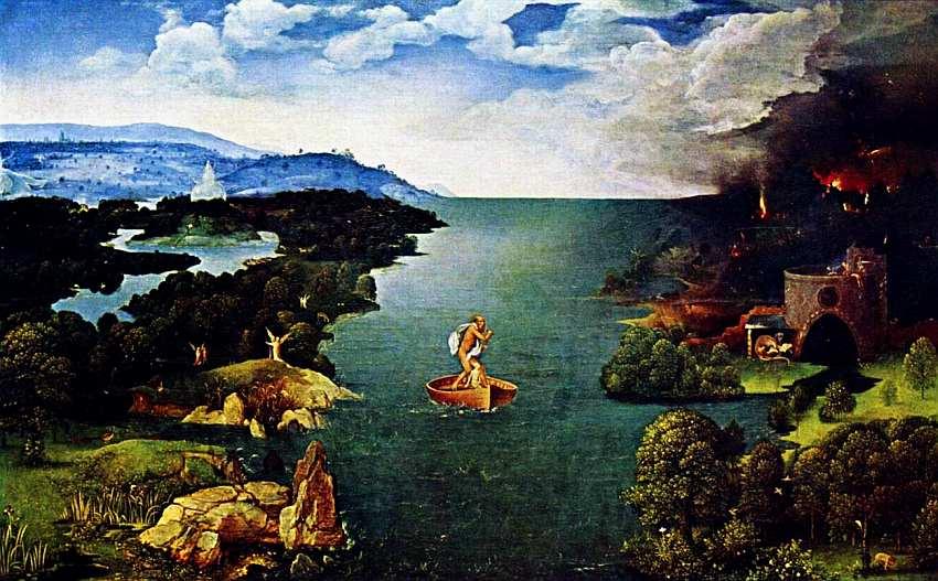 71-Иохим Патинир. Ладья Харона. 1520–1524.jpg