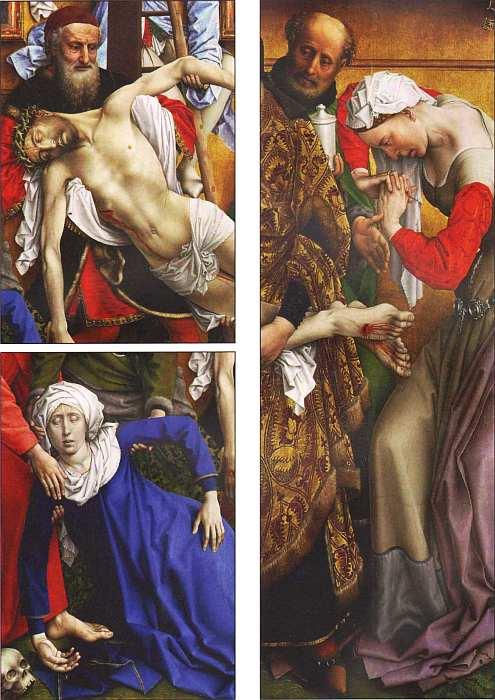 73-Рогир ван дер Вейден (около 1400–1464) Снятие с креста (фрагмент).jpg
