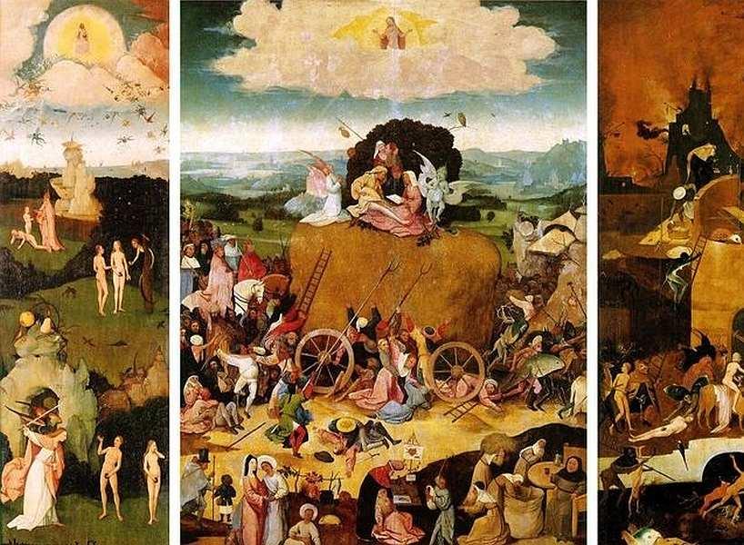 74-Иероним Босх (около 1460–1516) Воз сена 1516.jpg