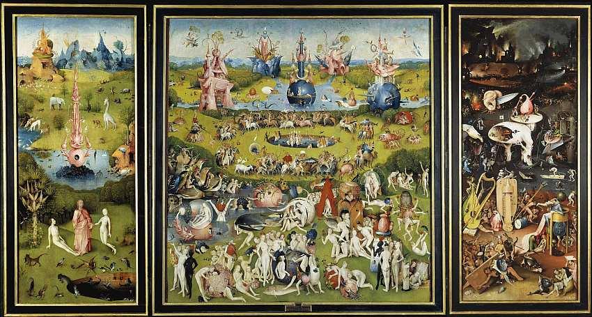 76-Иероним Босх (около 1460–1516) Сад земных наслаждений 1500–1505.jpg