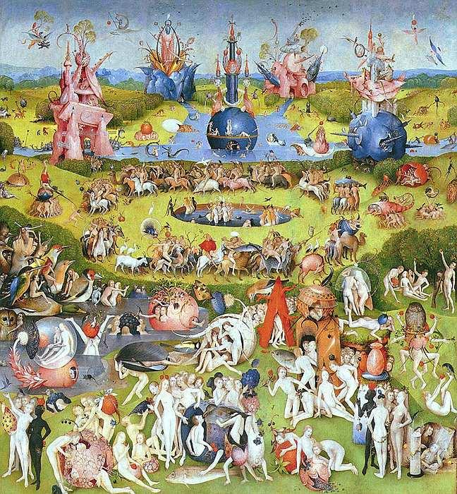 77-Иероним Босх (около 1460–1516) Сад земных наслаждений 1500–1505 (средняя часть).jpg
