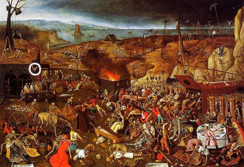 78-Питер Брейгель (около 1525–1569) Триумф смерти 1562.jpg
