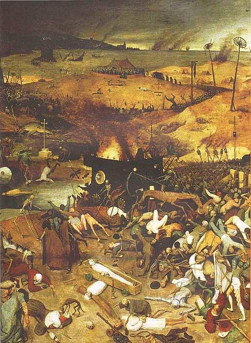 79-Питер Брейгель (около 1525–1569) Триумф смерти 1562 (фрагмент).jpg