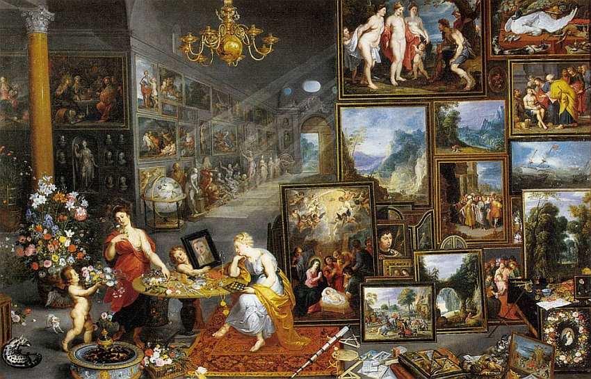 82-Ян Брейгель Старший (Бархатный) (1568–1625) Аллегория Зрения 1617.jpg