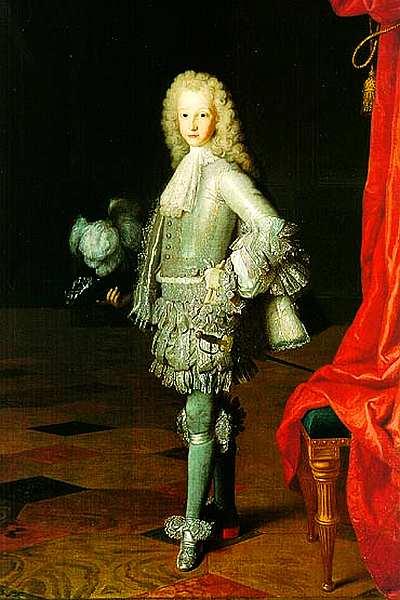 87-Мишель-Анж Уасс. Портрет Людовика I, принца Астурийского. 1717.jpg