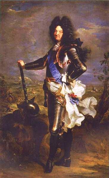 90-Гиацинт (Иасинт) Риго (1659–1743) Портрет Людовика XIV 1701.jpg