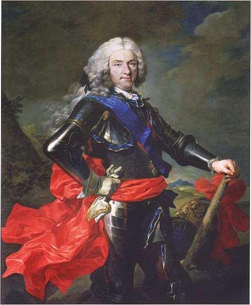 91-Луи Мишель ван Лоо (1707–1771) Портрет Филиппа, короля Испании. Около 1739.jpg