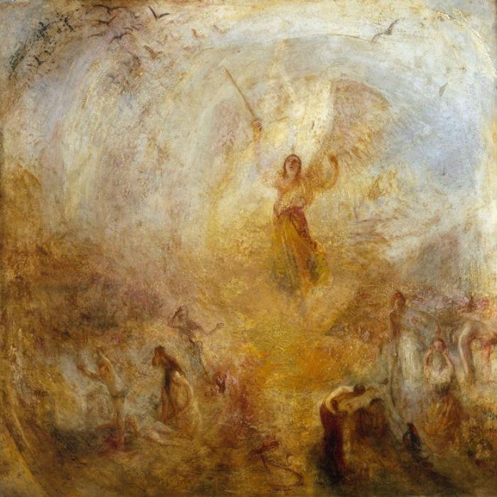 7-Джозеф Мэллорд Уильям Тёрнер - Ангел стоящий на солнце - 1846.jpg