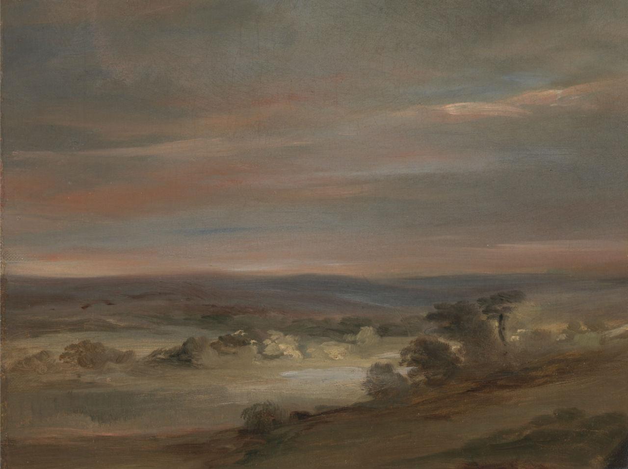 9-Джон Констебл - Вид на Хэмпстед-Хит раннее утро - 1821.jpg