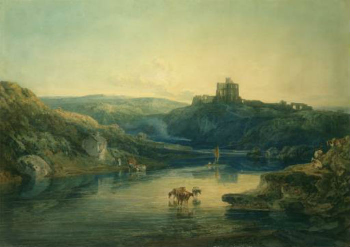 19-Джозеф Мэллорд Уильям Тёрнер - Замок Норем на рассвете - 1798.jpg