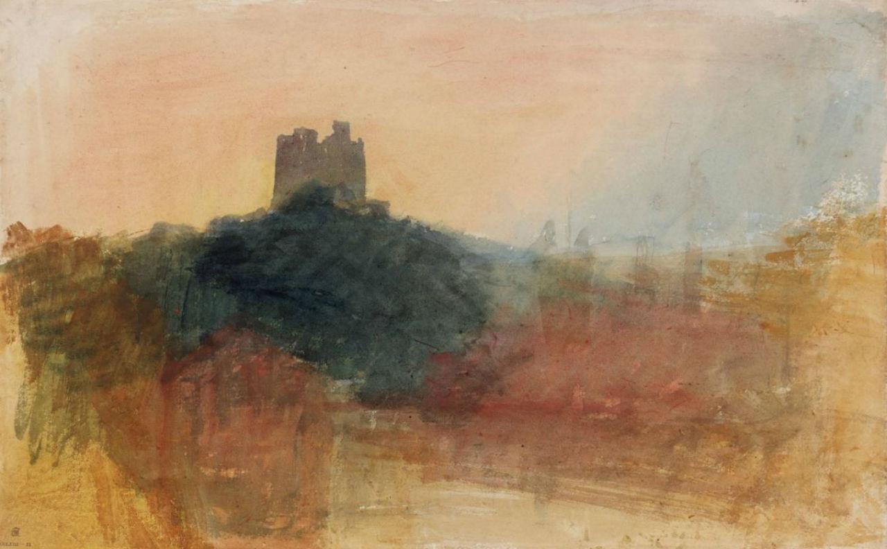 21-Джозеф Мэллорд Уильям Тёрнер - Замок Норем на рассвете - 1830.jpg