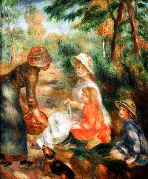 2-Пьер Огюст Ренуар (1841–1919) Продавщица яблок.jpg