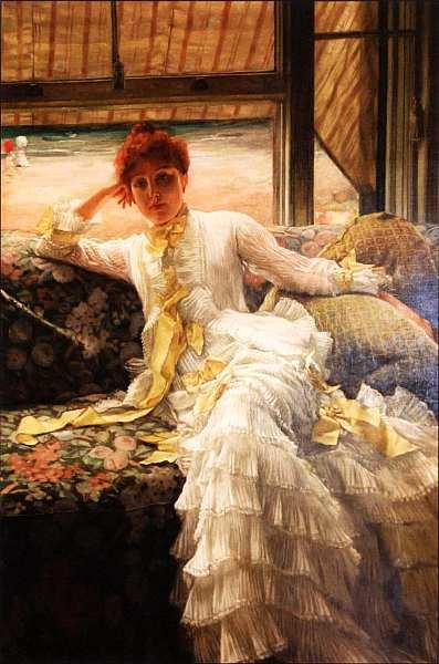 8-Джеймс Джозеф Жак Тиссо (1836–1902) Море. Июль 1878.jpg
