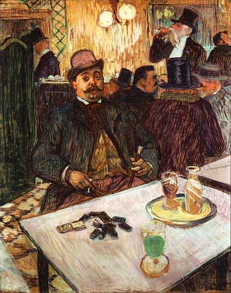 13-Анри де Тулуз-Лотрек (1864–1901) Месье Буало в кафе 1893.jpg