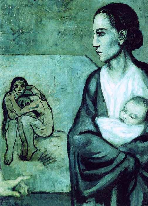 15-Пабло Пикассо (1881–1973) Жизнь 1903 (фрагмент).jpg