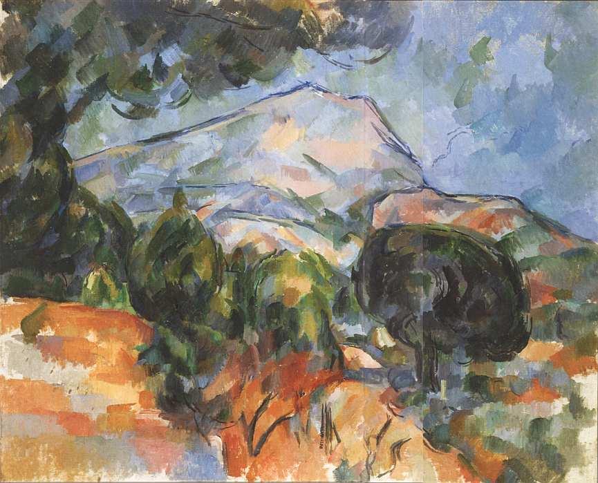 16-Поль Сезанн (1839–1906) Гора Святой Виктории. Около 1904.jpg