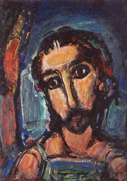 18-Жорж Руо (1871–1958) Голова Христа. Около 1937.jpg
