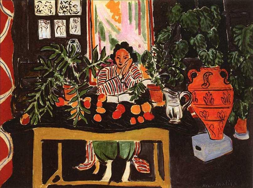 19-Анри Матисс (1869–1954) Интерьер с этрусской вазой 1940.jpg
