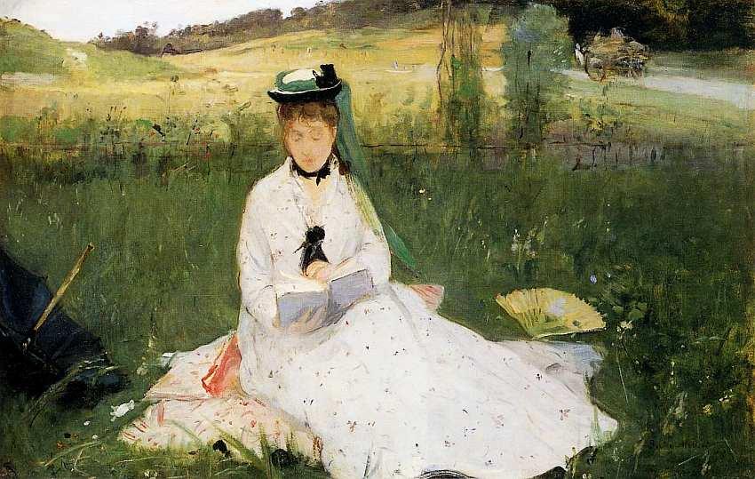 4-Берта Моризо (1841–1895) Чтение 1873.jpg