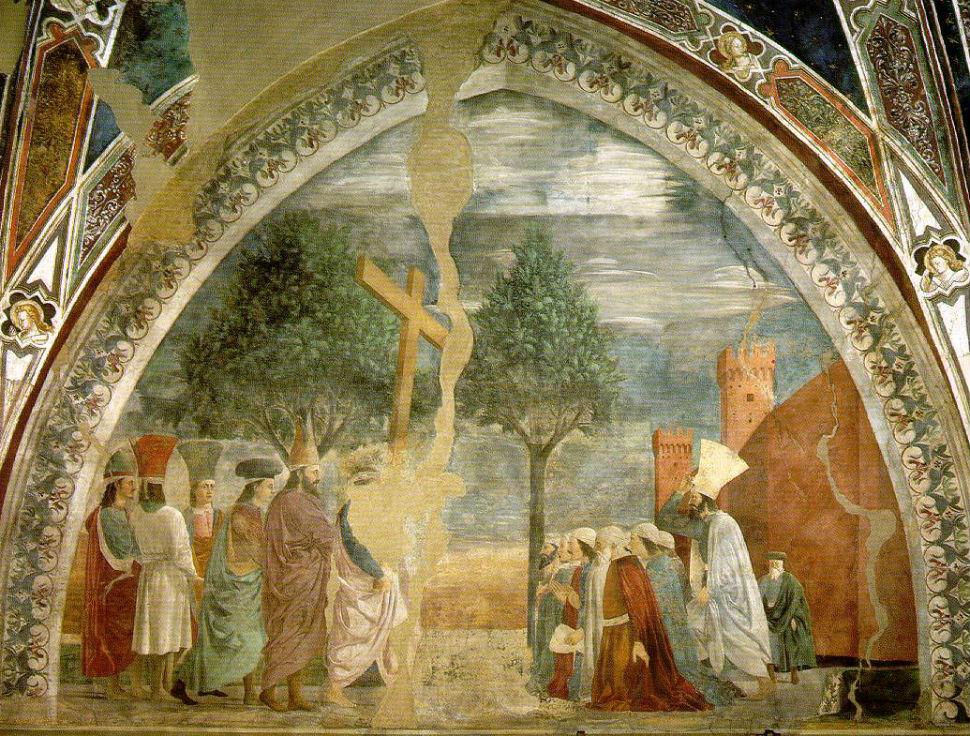 5-Пьеро делла Франческа - Воздвижение Креста Господня.jpg