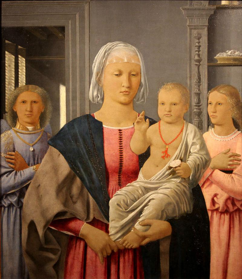 6-Пьеро делла Франческа - Мадонна ди Сенигаллия - 1474 - Национальная галерея Марке Урбино.jpg