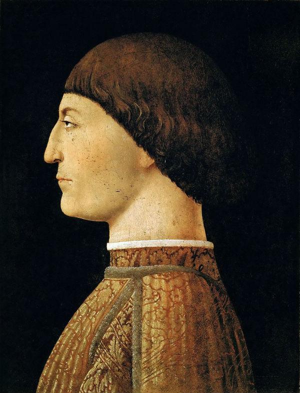 8-Портрет Сиджизмондо Малатеста - Пьеро делла Франческа - 1450 - Лувр.jpg