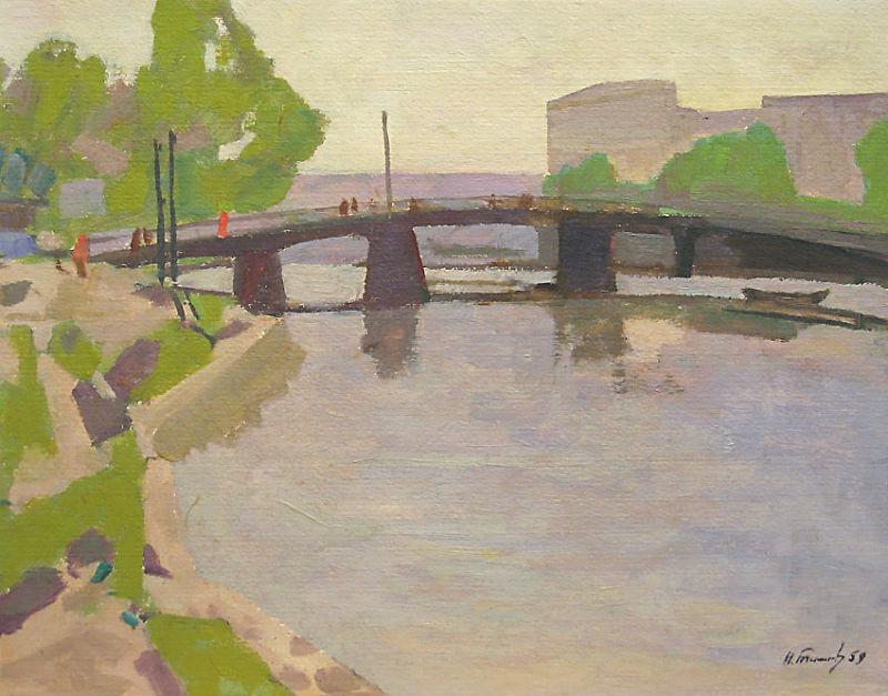 Николай Тимков (1912-1993) - Ленинградский мотив - 1959.jpg